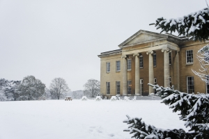 Leigh Court in the snow